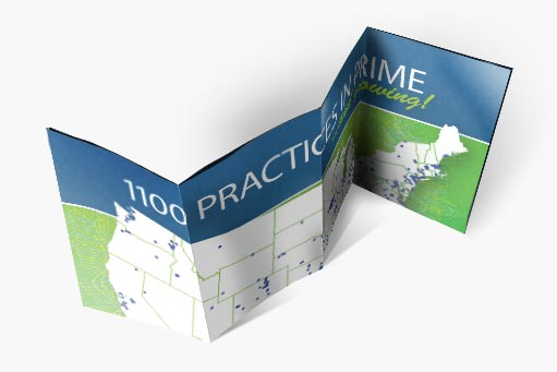 See the map of the practices currently using the PRIME Registry.
